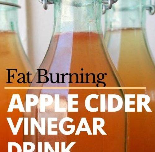 burn-fat-fast-with-apple-cider-vinegar-drink