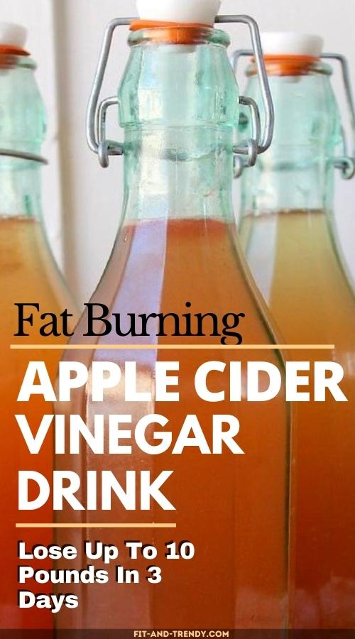 burn-fat-fast-with-apple-cider-vinegar-drink