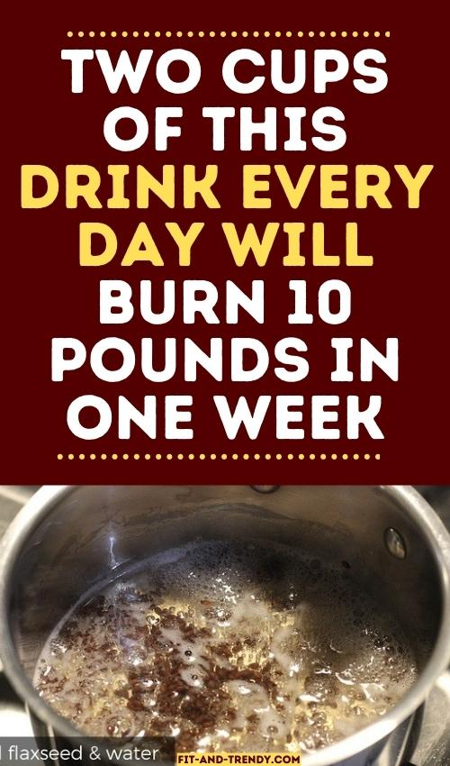 homemade-flaxseed-milk-to-lose-weight-fast